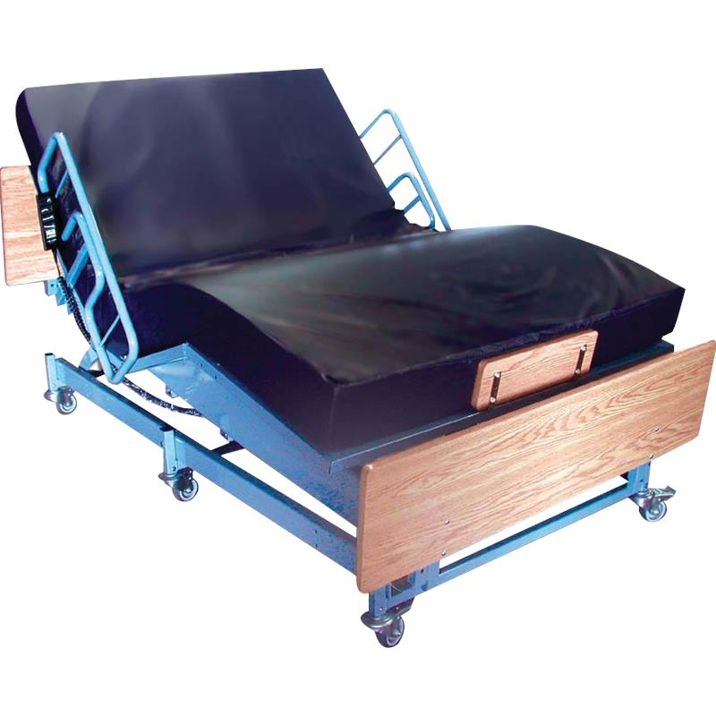 Medline Queens Pride Full Electric Bariatric Bed Hospital Bed
