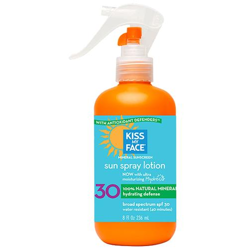 Kiss My Face Natural Mineral Spray Lotion