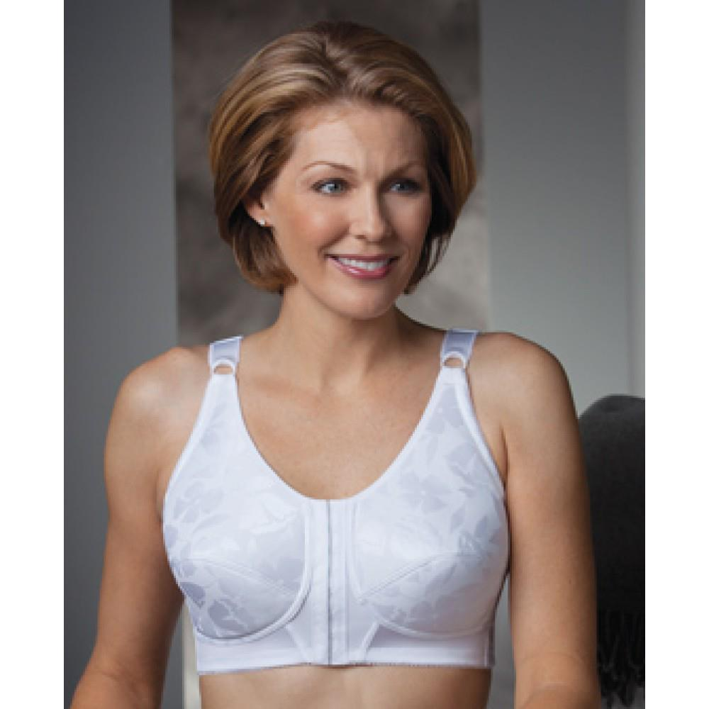 0a0d90b846 ... Three Quarter Length Posture Support Softcup Mastectomy Bra - White ...