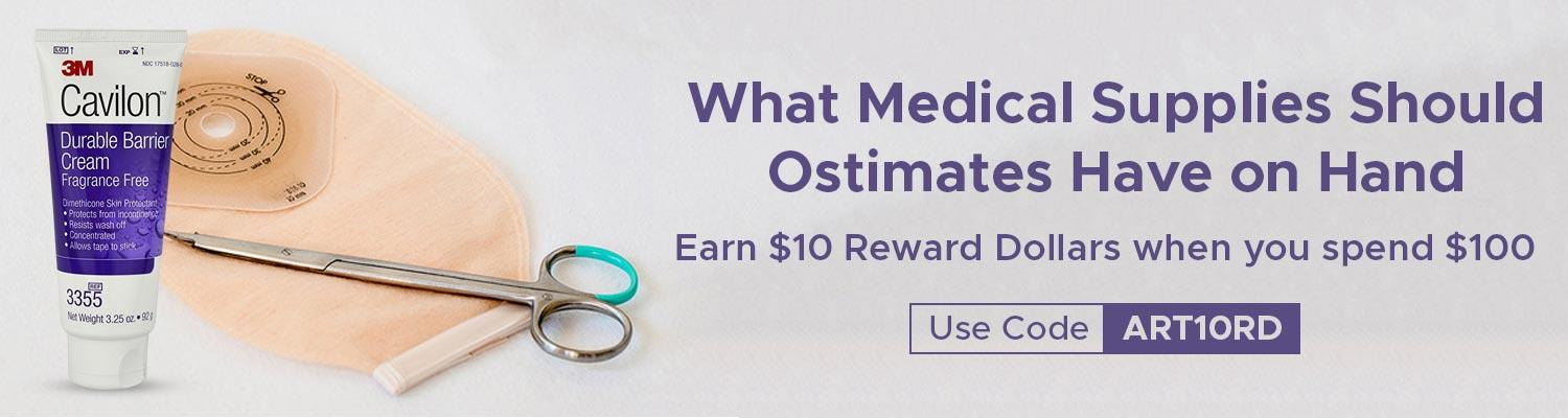 What Medical Supplies Should Ostimates Have on Hand?