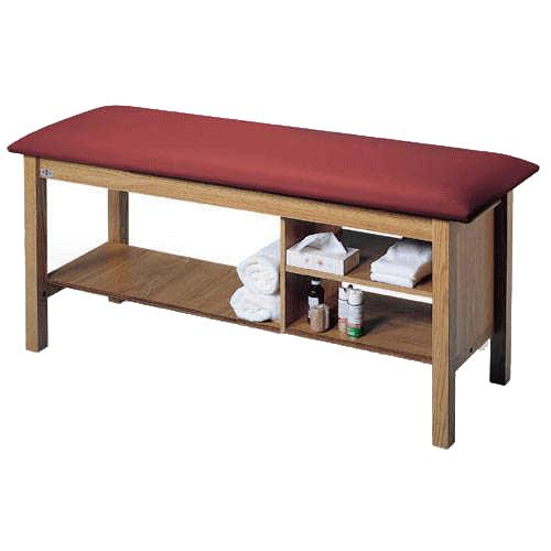 Hausmann Quality Line Treatment Table With Shelf And Cubby