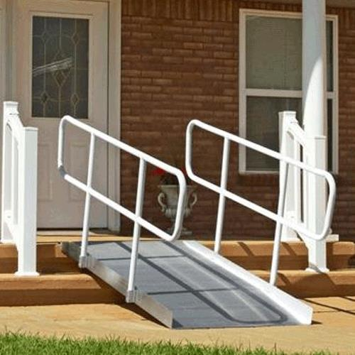 PVI Aluminum OnTrac Ramp with Handrail | Portable Ramps