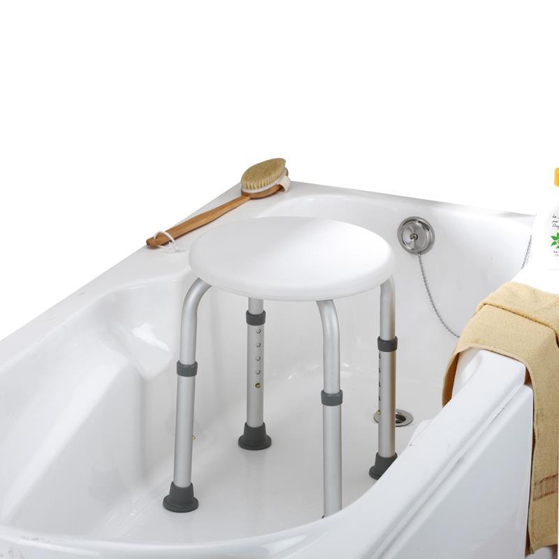 Essential Medical Round Bath Stool