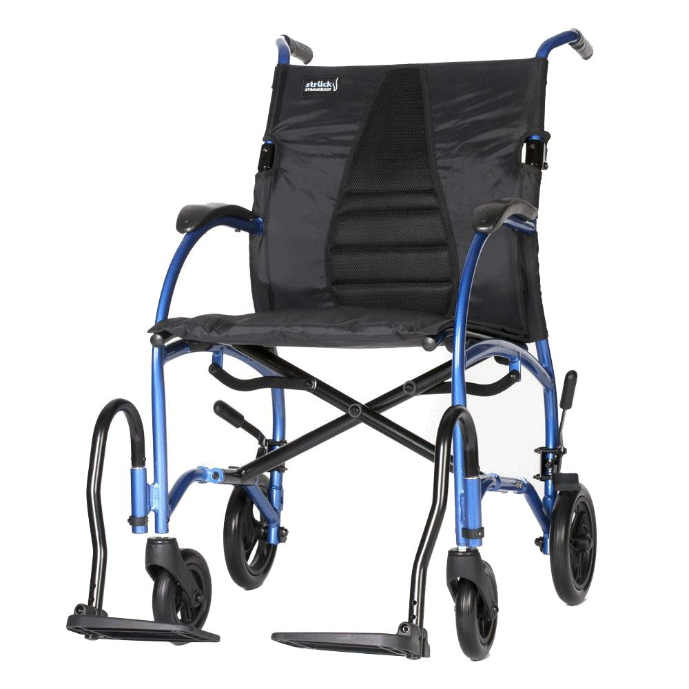 Strongback Ergonomic Transport Wheelchair   Lightweight Chairs