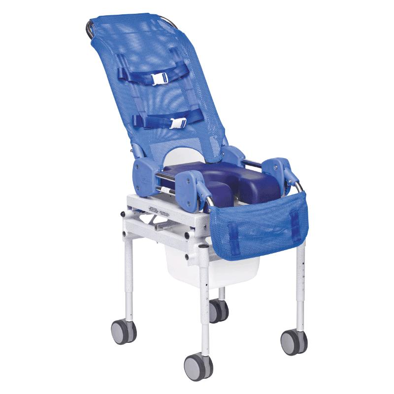 Columbia Omni Rolling Commode And Shower Chair | Shower Chairs