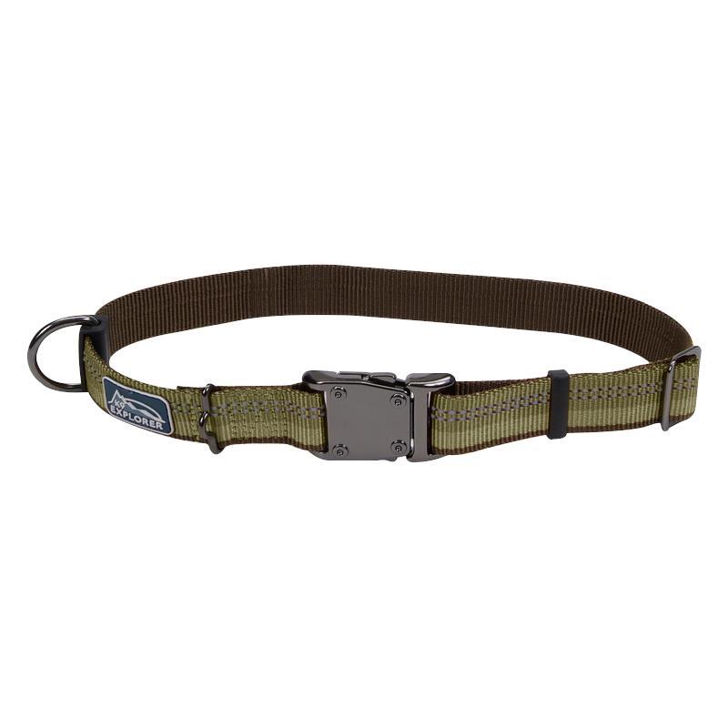 Pet K Explorer Reflective Adjustable Dog Collar Ig Coastal Pet K Explorer Reflective Adjustable Dog Collar Green Color Ig on K9 Explorer Reflective Dog Collar Adjustable