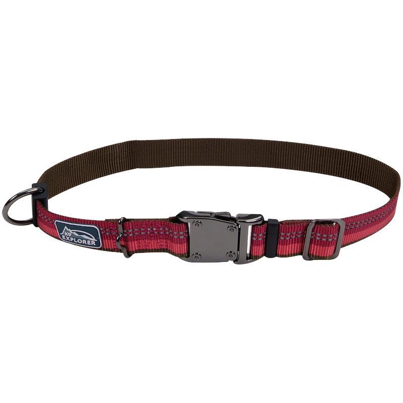 Pet K Explorer Reflective Adjustable Dog Collar Ig Coastal Pet K Explorer Reflective Adjustable Dog Collar Red Color Ig on K9 Explorer Reflective Dog Collar Adjustable