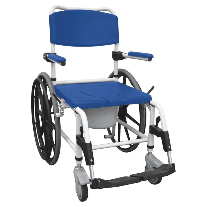 Drive Aluminum Rehab Shower Commode Chair | Rolling Shower Commode ...
