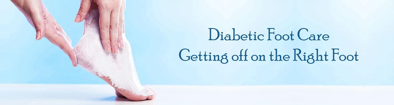 Diabetic Foot Care: Getting off on the Right Foot