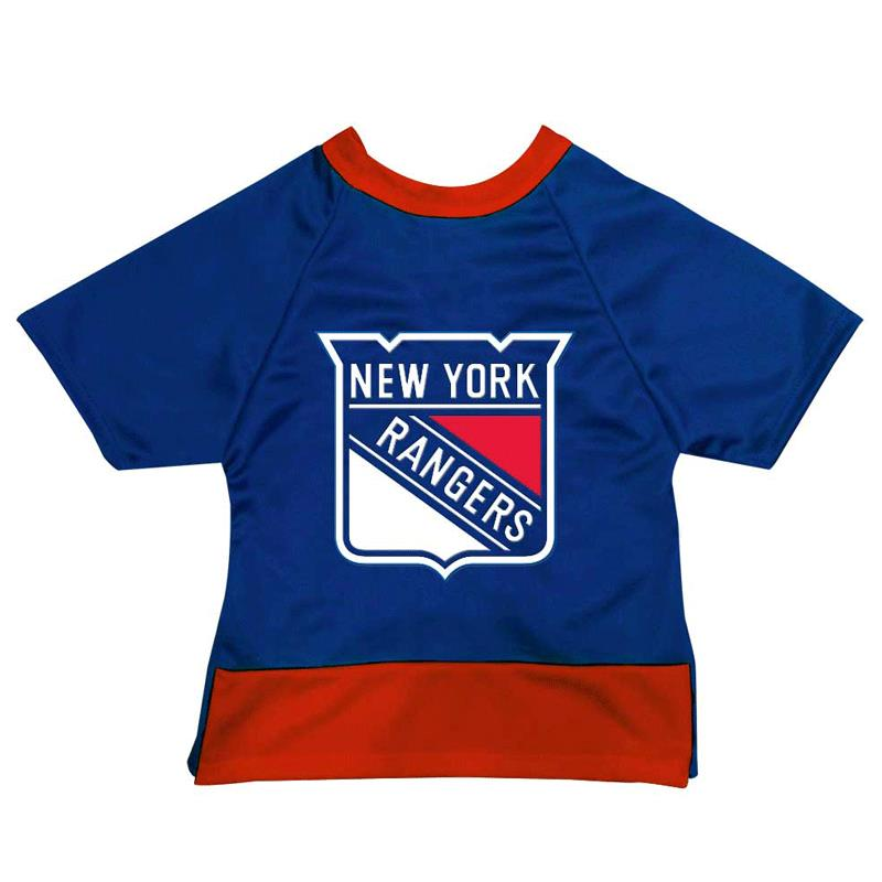 new concept 6b114 0cff8 All Star Dogs New York Rangers Dog Jersey