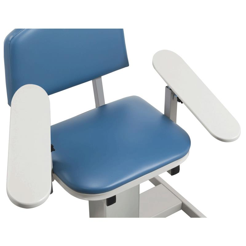 Clinton H Series Padded Blood Drawing Chair Phlebotomy