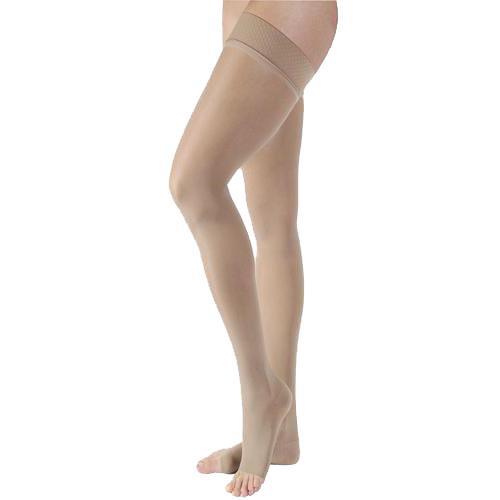 f5943d06512b1 BSN Jobst Ultrasheer 20-30mmHg Open Toe Thigh High Stockings ...