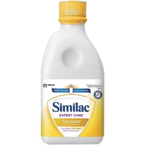 Abbott Similac Expert Care NeoSure Infant Formula With