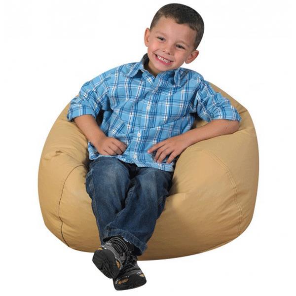 Strange Childrens Factory 26 Inch Round Bean Bag Evergreenethics Interior Chair Design Evergreenethicsorg