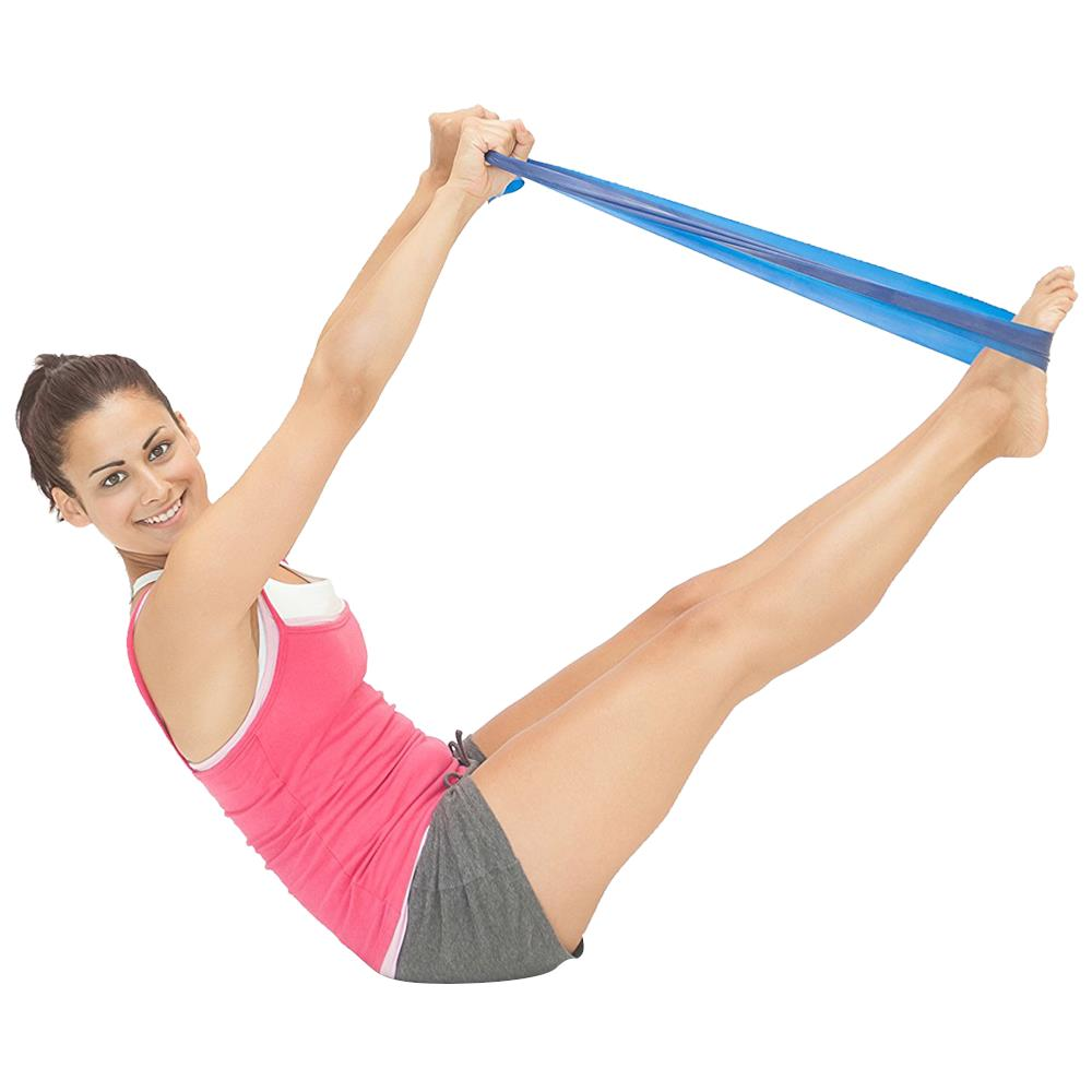 Jc Exercise Bands: CanDo Low-Powder Exercise Band PEP Pack