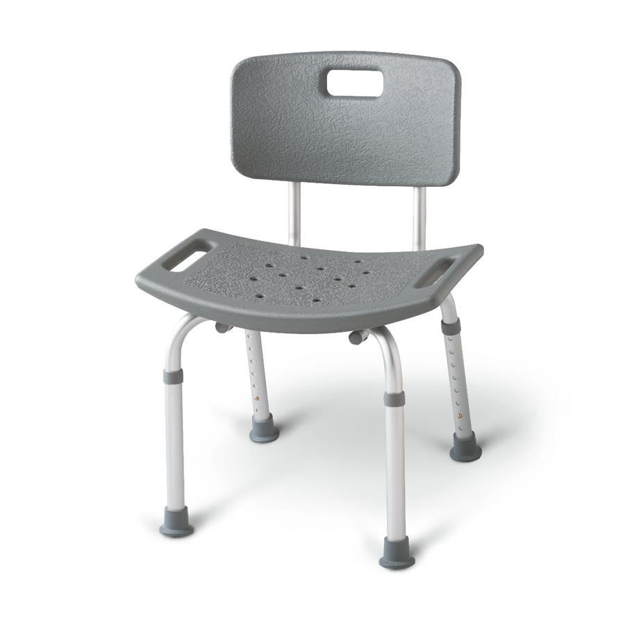 Medline Bath Bench Shower Chair With Back | Shower Chairs