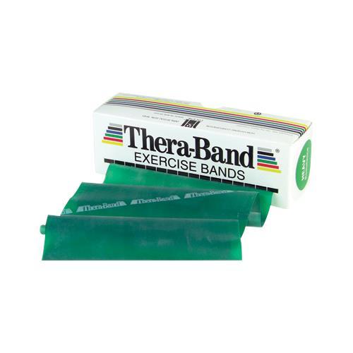 Exercise Bands Green: TheraBand Six Yard Latex Exercise Band