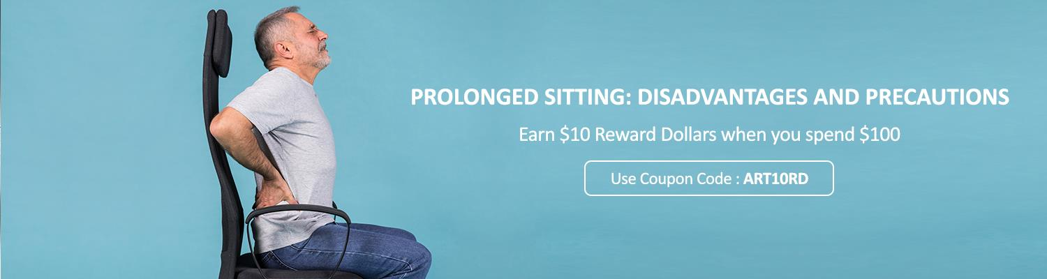 Prolonged Sitting: Disadvantages and Precautions