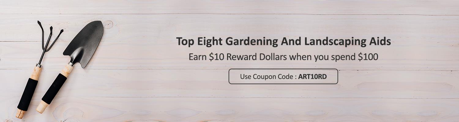 Top Eight Gardening and Landscaping Aids