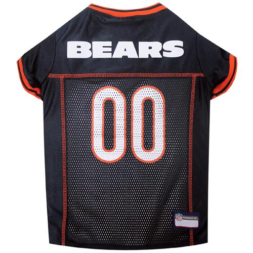 competitive price 4fdc4 e0cdf Pets First Chicago Bears Orange Trim Mesh Dog Jersey