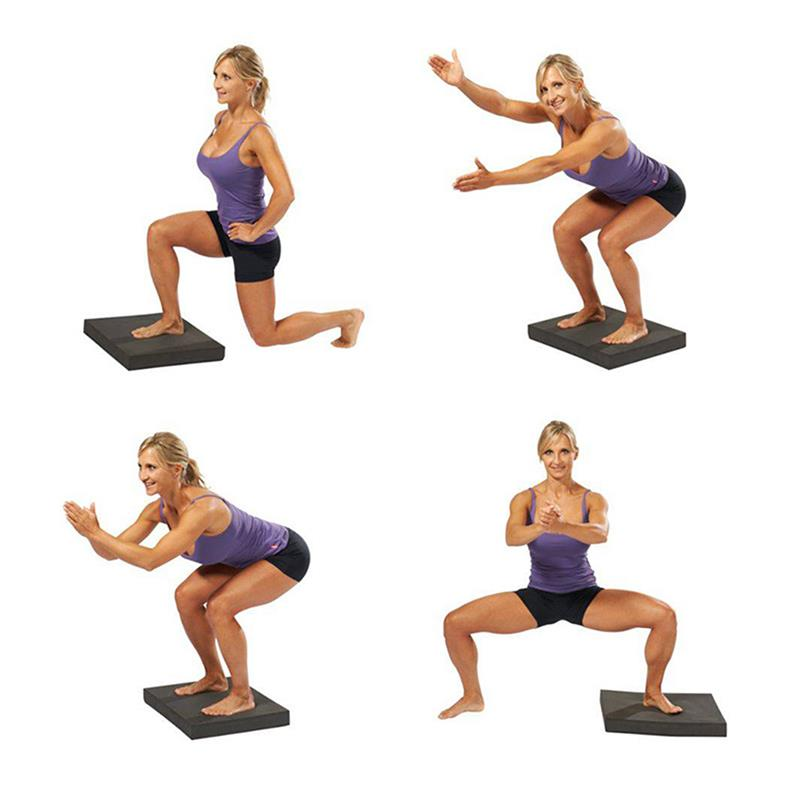 Balance Board Exercises For Knee: Fitterfirst Balance Pad