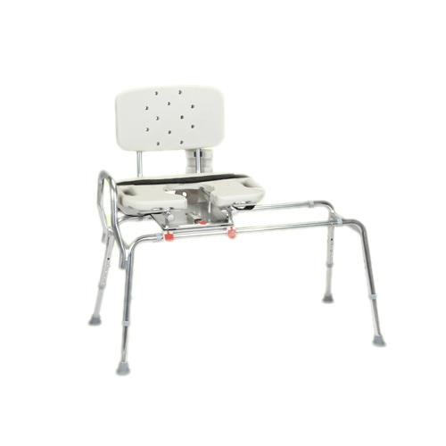 Snap N Save Sliding Transfer Bench With Cut-Out Molded ...