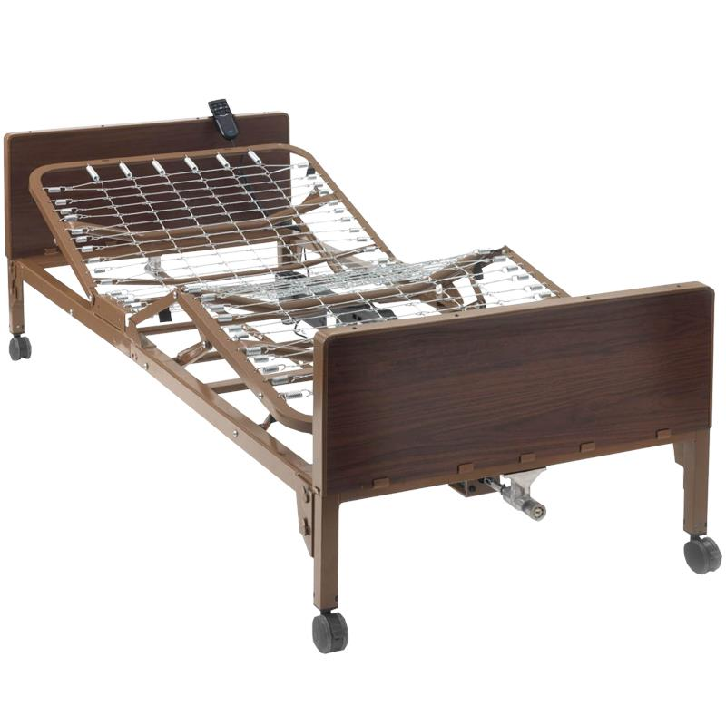 Ita Med Single Crank Semi Electric Hospital Bed With Two