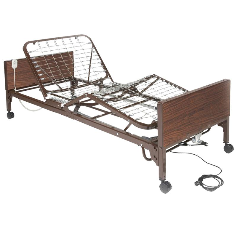 Medline Medlite Lightweight Homecare Bed Manual Bed Frame