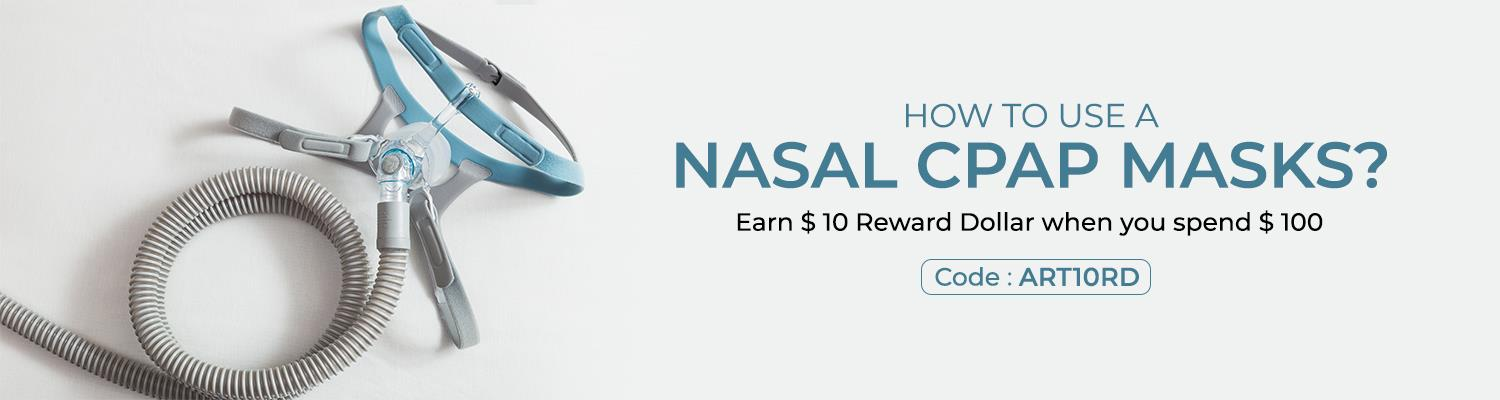 How to use a Nasal CPAP Masks?