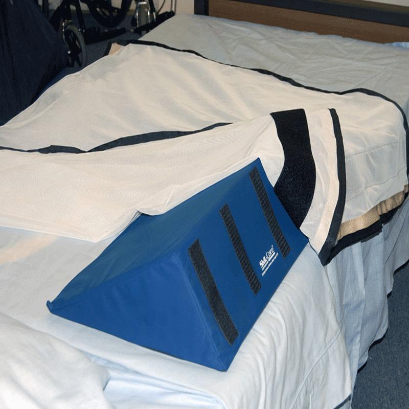 Skil care 30 degree foam wedges with velcroa for bolster for 30 degree wedge pillow