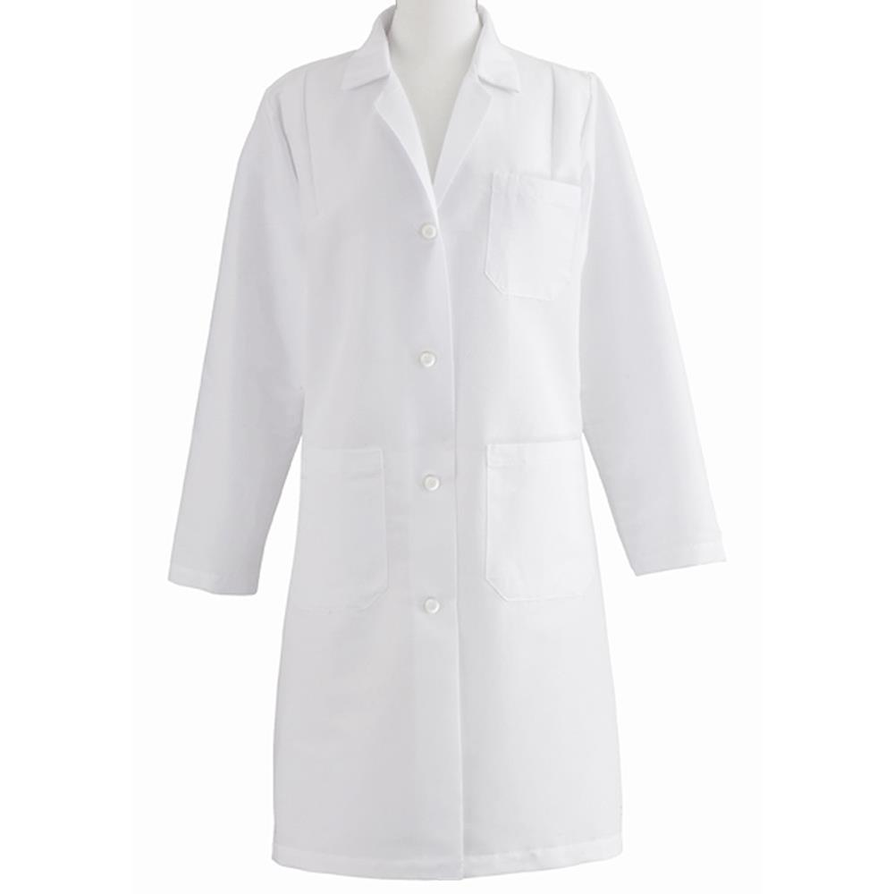 Amd Premium White Lab Coats Lab Safety