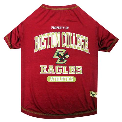 more photos 84a38 17bc2 Pets First Boston College Eagles Dog Tee Shirt