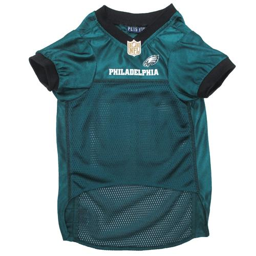 Pets First Philadelphia Eagles Black Trim Mesh Dog Jersey  771ef5d8a