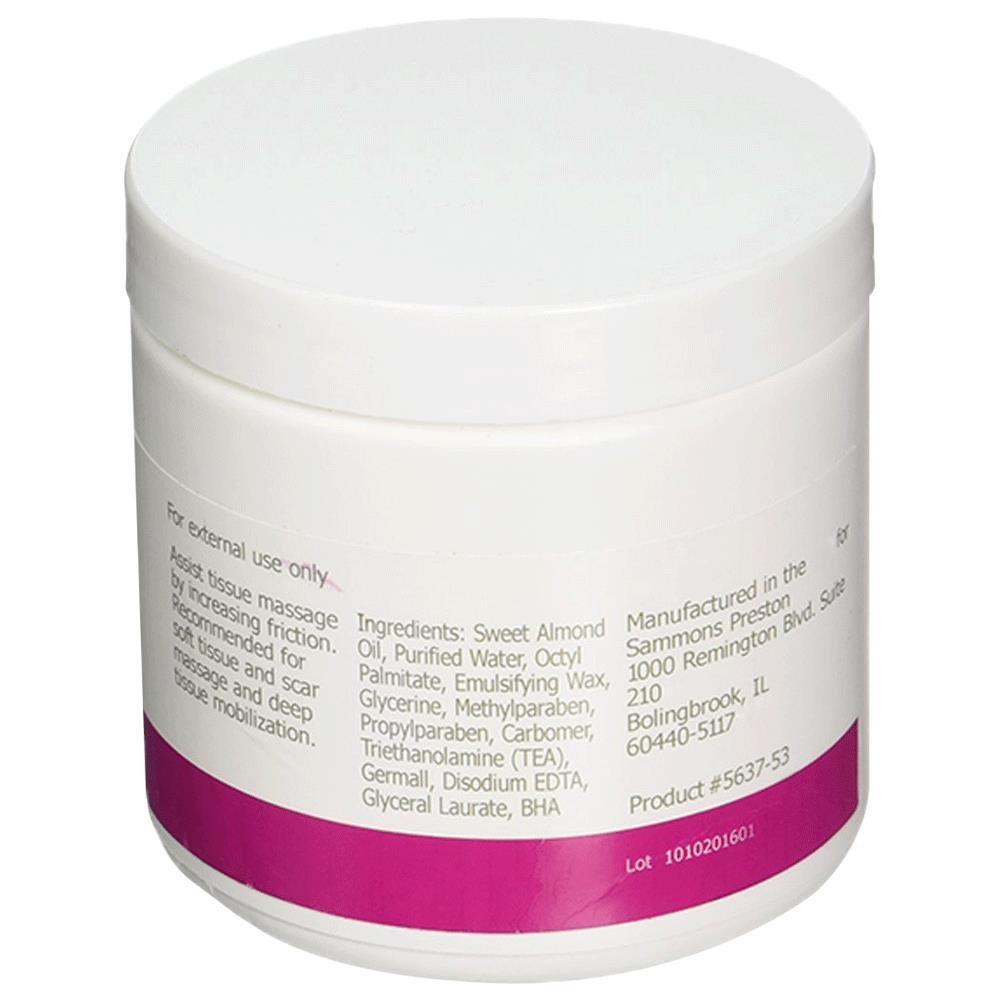 Rolyan Deep Prep Tissue Massage Cream Deep Prep 15 oz krukke-1381
