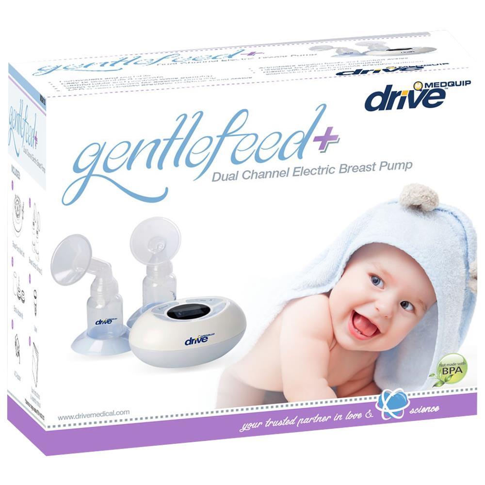 Drive Medquip Gentlefeed Plus Dual Channel Breast Pump  Breast Pumps-3345
