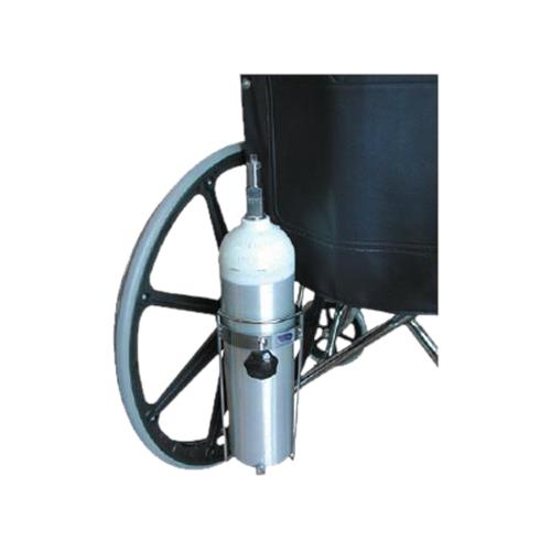 Eagle health oxygen tank holder for wheelchairs
