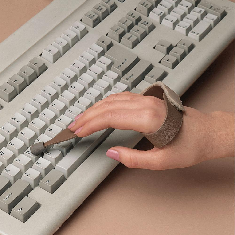 Writing and typing aids for disabled