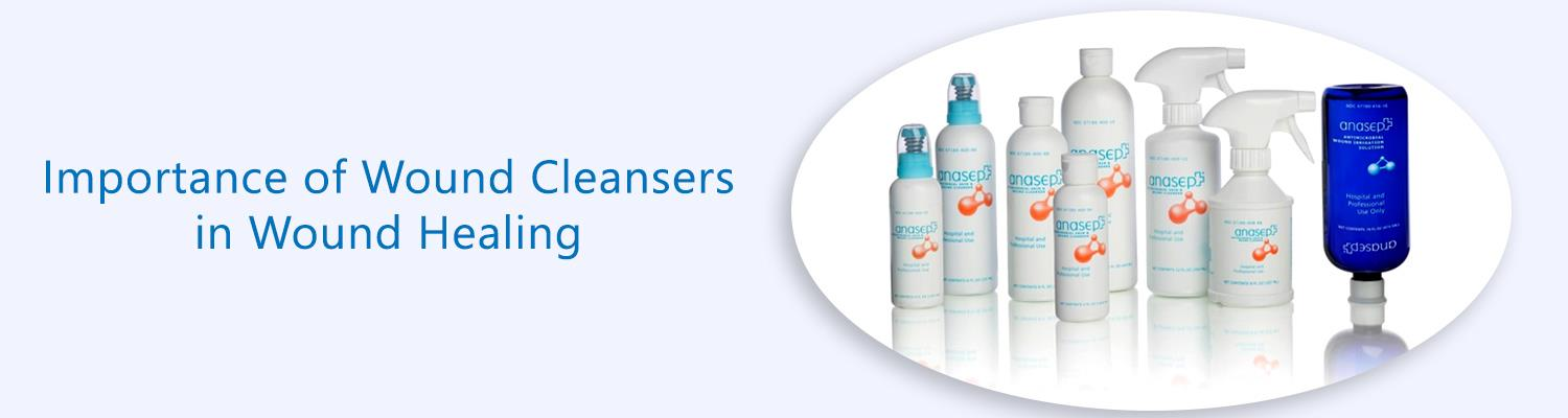 Importance of Wound Cleansers in Wound Healing