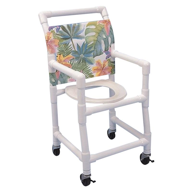 Healthline Pediatric Shower Commode Chair With 15-Inch Width ...