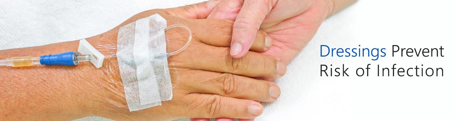How do Dressings Prevent Risk of Infection at Catheter Sites?