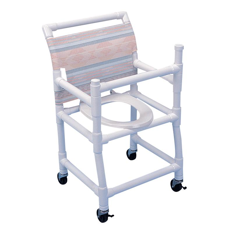 Healthline Gated Shower Chair With Deluxe Elongated Seat