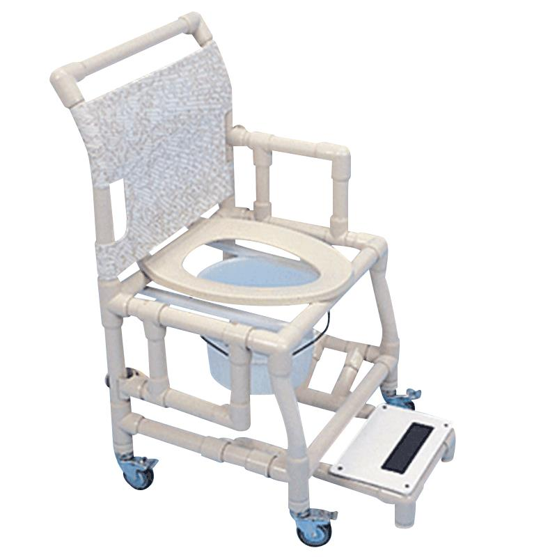 Healthline Shower Chair With Deluxe Elongated Seat And Sliding ...