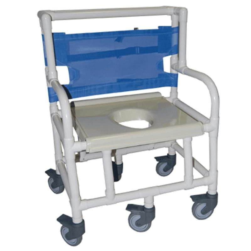 Healthline Bariatric Shower Commode Chair With 600 Lb Capacity