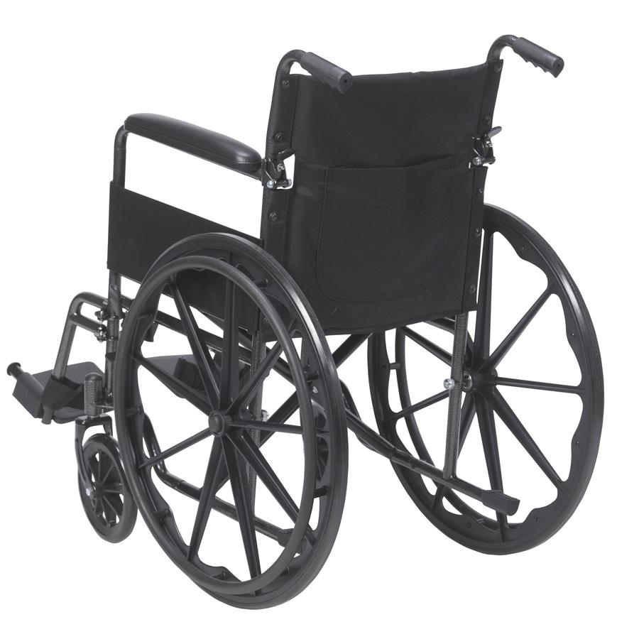 Drive Silver Sport 1 Single Axle Wheelchair Standard