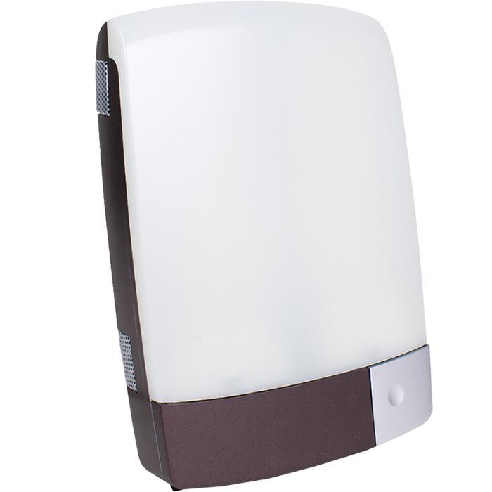 carex sunlite bright light brown therapy lamp light. Black Bedroom Furniture Sets. Home Design Ideas