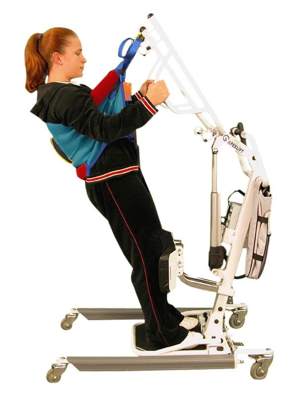 Electric Lift Assist Arms : Bestcare deluxe padded stand assist slings up