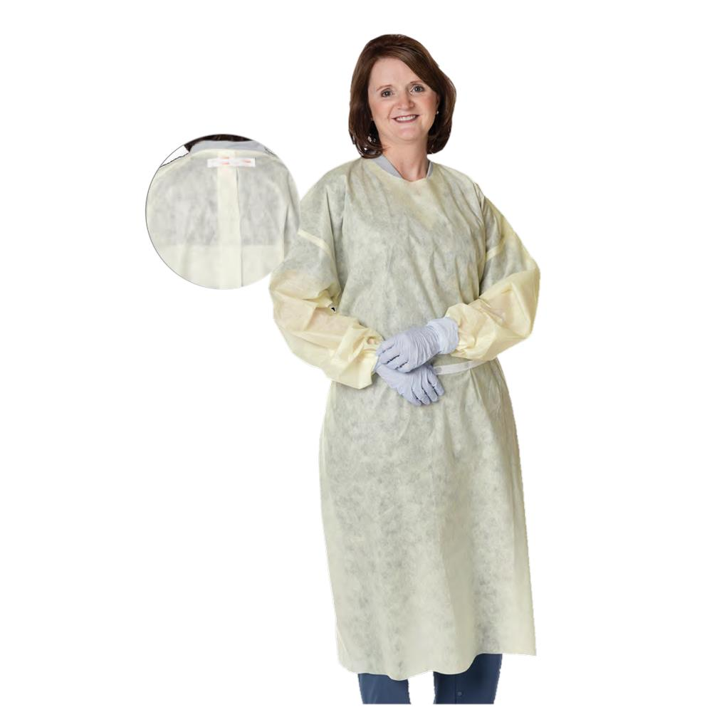 Cardinal Health Multi Ply Yellow Isolation Gowns