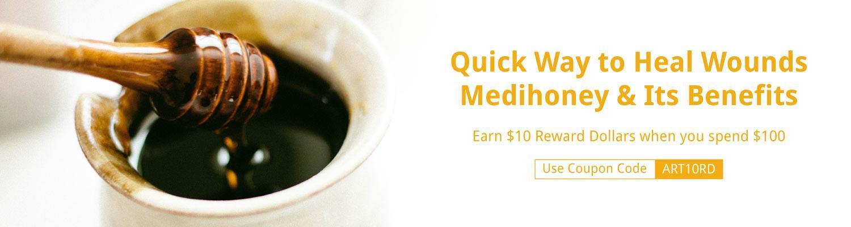 Quick Way to Heal Wounds: Medihoney & Its Benefits