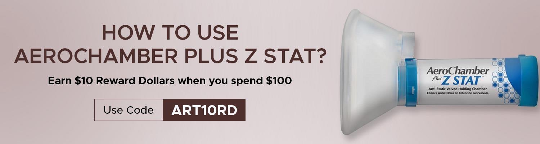 How to Use Aerochamber Plus Z Stat?