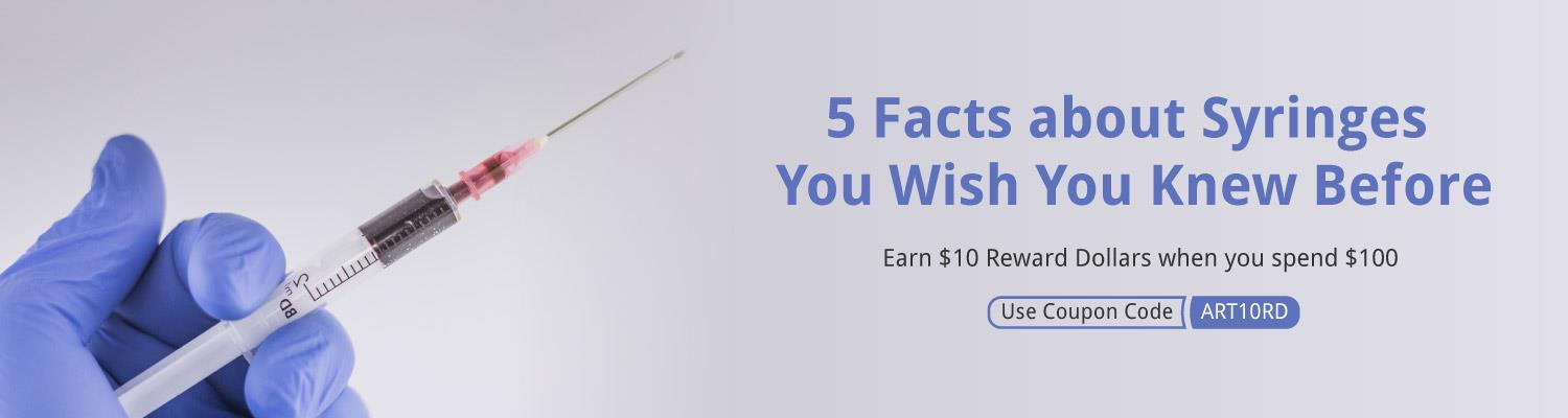 5 Facts about Syringes You Wish You Knew Before